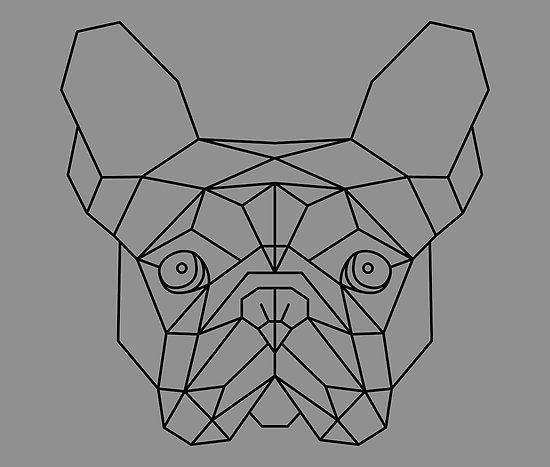 das gesicht eines franz sisch bulldog frenchie die ich entworfen und dann in adobe. Black Bedroom Furniture Sets. Home Design Ideas