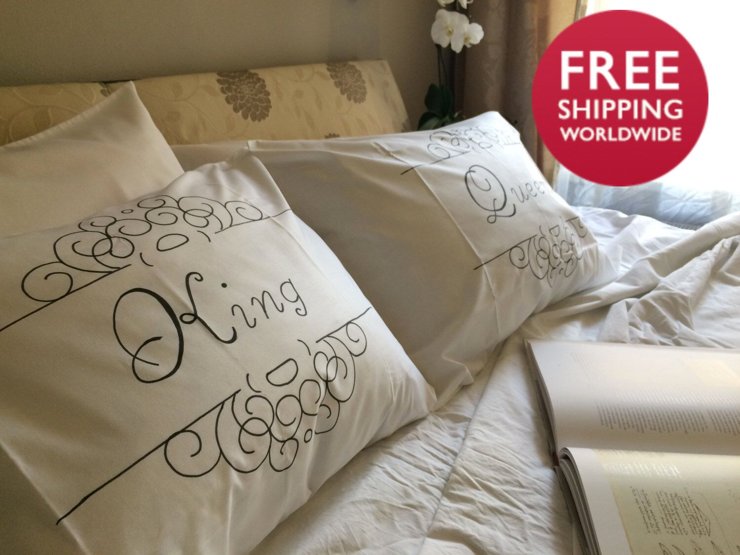 Pillowcases Queen And King Gift For