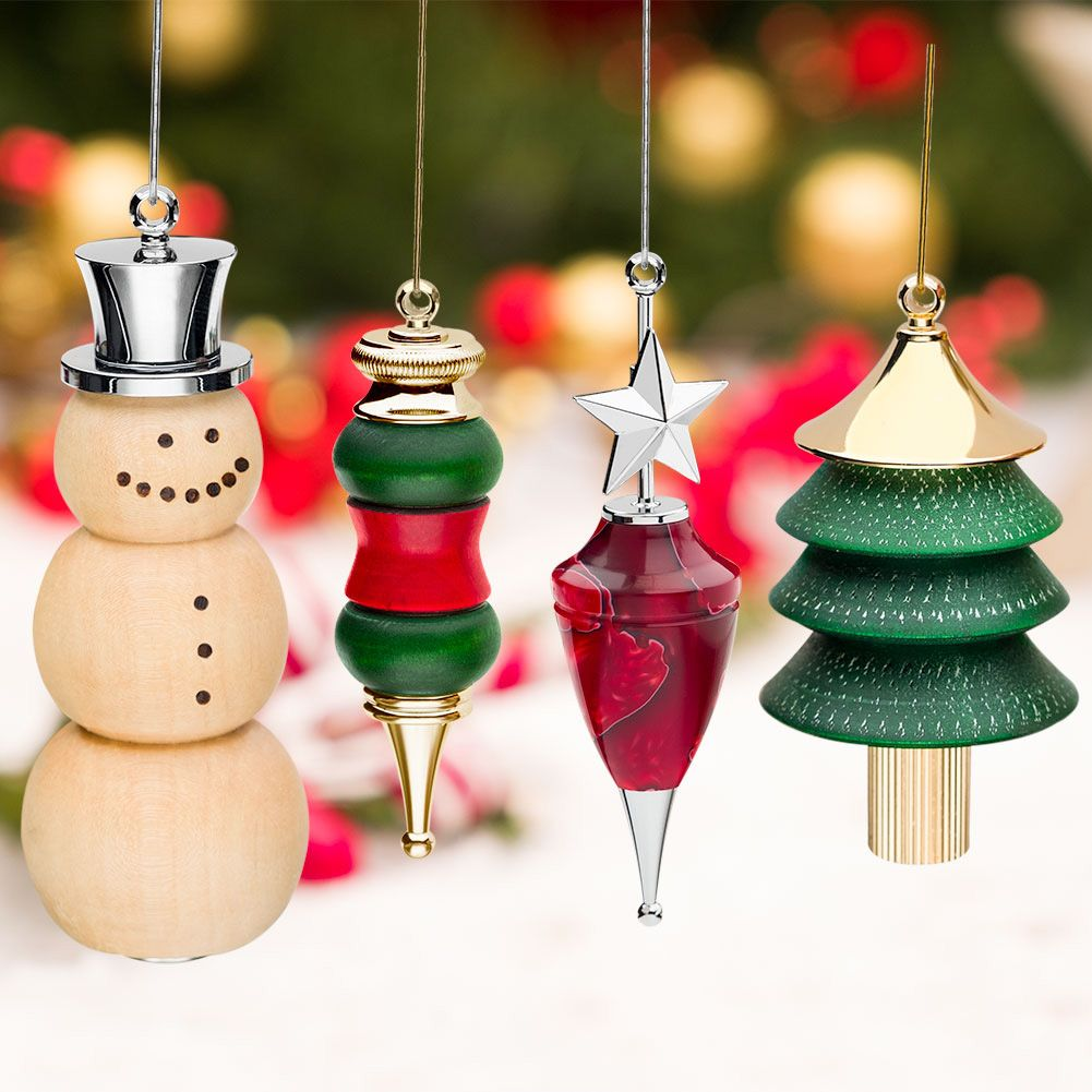 Artisan Christmas Tree Ornaments From Craft Supplies Usa Turn A Christmas Tree Ornament Today They R Wood Turning Projects Craft Supplies Usa Wood Turning