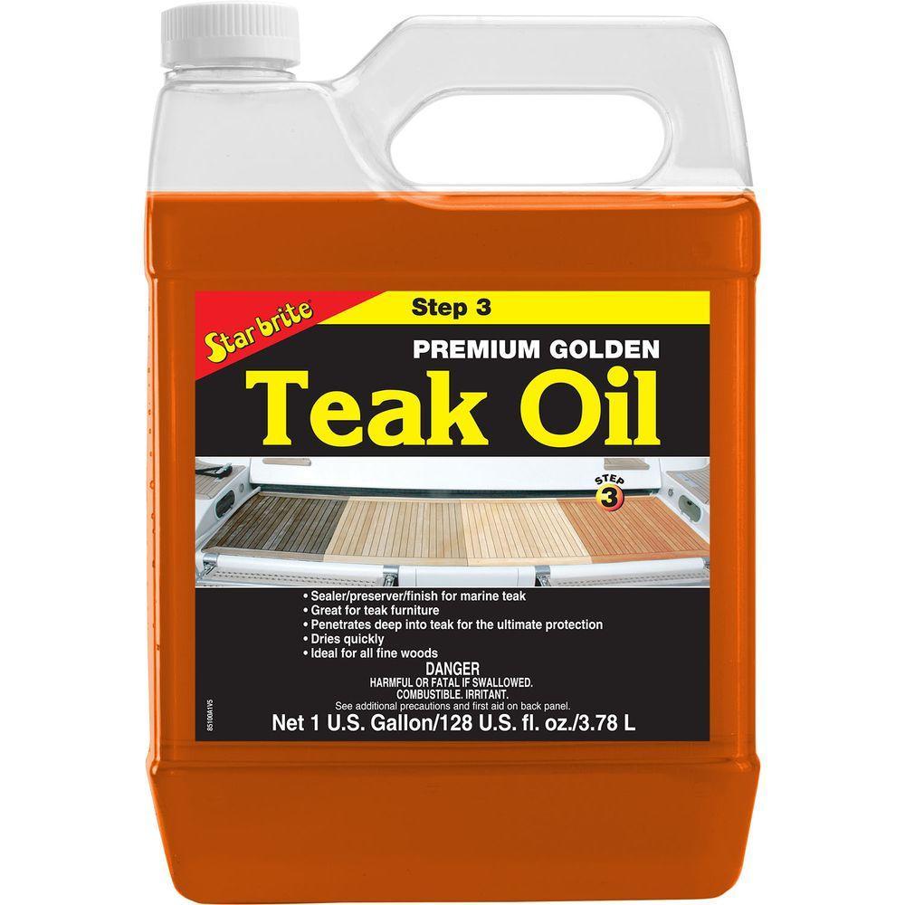 Star Brite 1 Gal Premium Teak Oil 085100 Teak Oil Teak