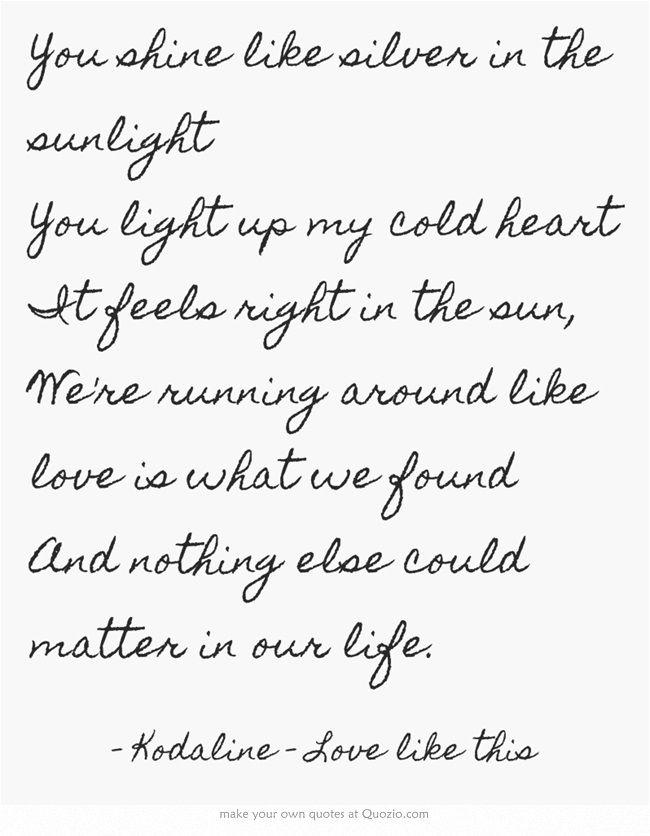 Lyric like this lyrics : Love like this. Kodaline | MUSIC | Pinterest | Acoustic, Beautiful ...