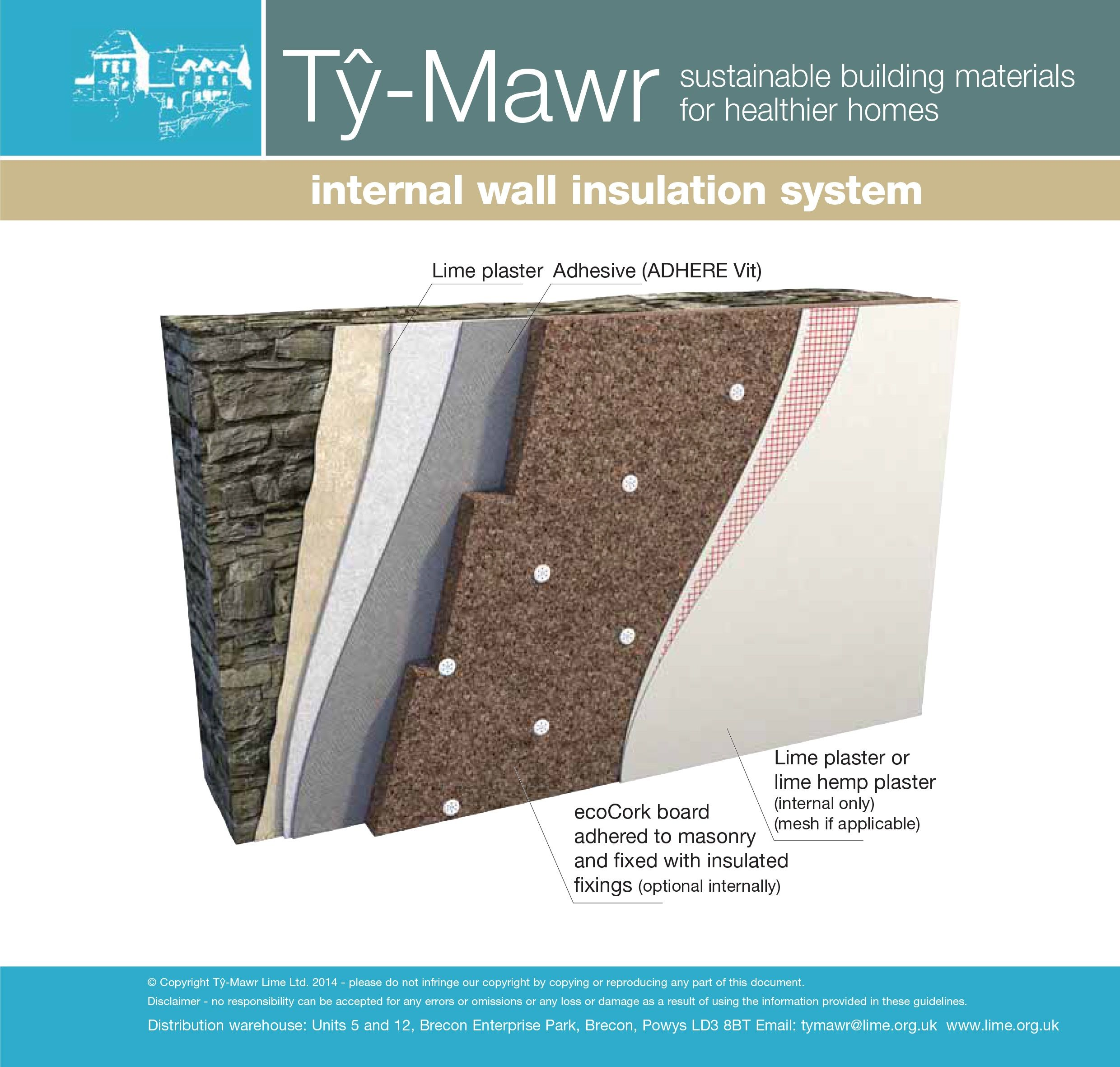 The EcoCork Board Supplied By Ty Mawr Lime Provides Excellent Thermal And  Acoustic Performance For External As Well As Internal Wall And Ceiling ...