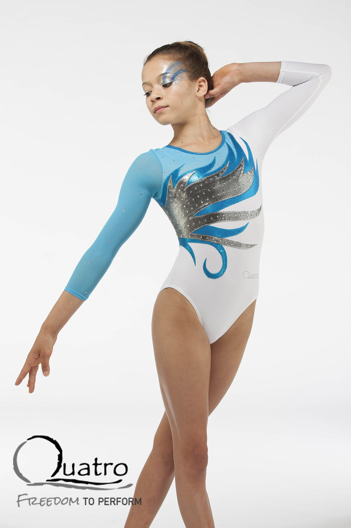 9d34e8a8475b Girls long sleeve leotard | Leotards | Long sleeve gymnastics ...