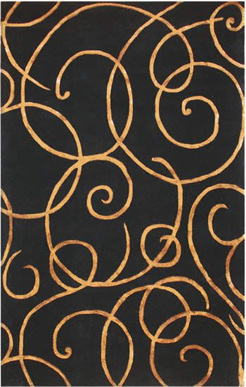 Black Tan Bronze Gold Area Rug Area Rugs Area Rugs For