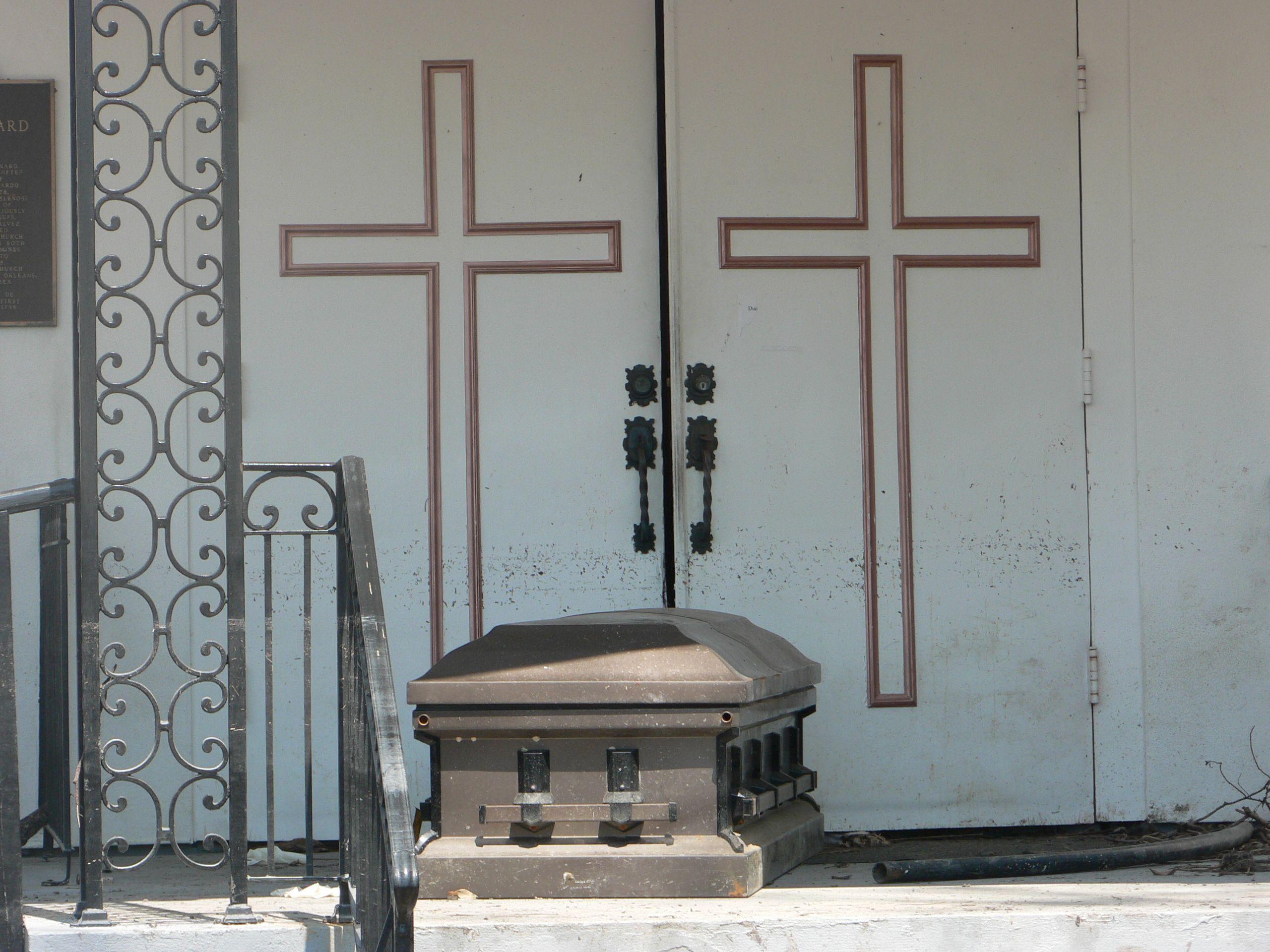 This was in St. Bernard parish a week after Katrina. St