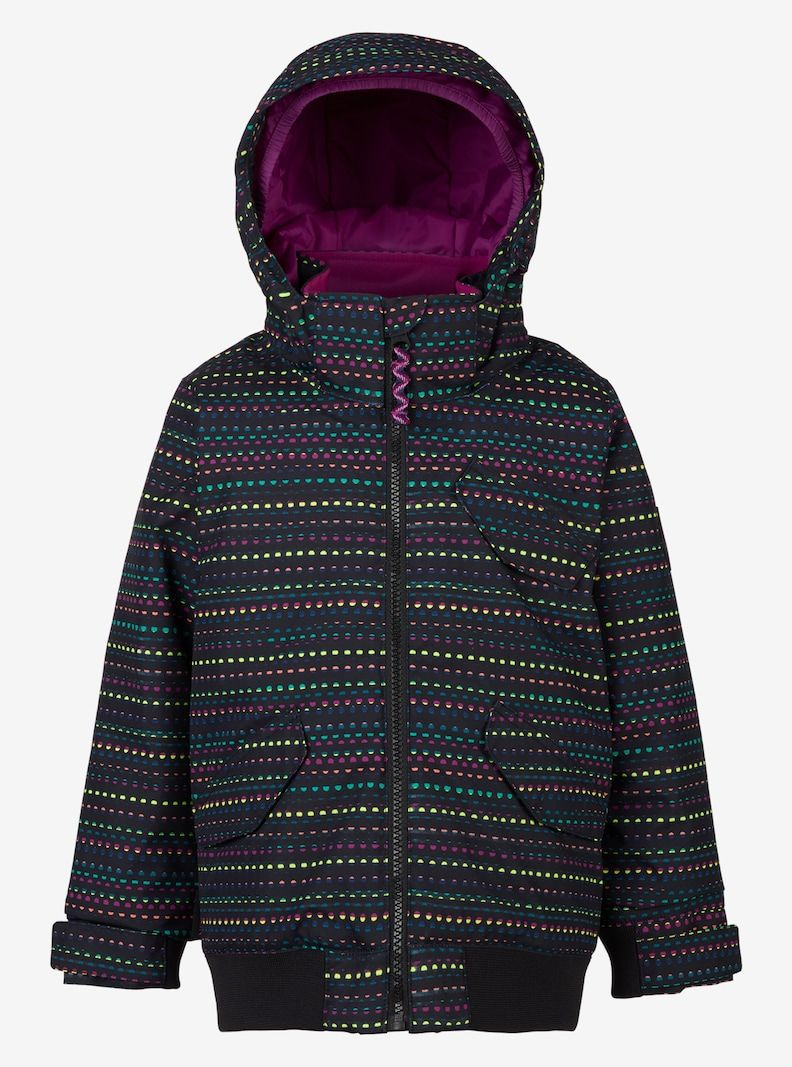 9c62bffa7 Girls  Burton Minishred Twist Bomber Jacket shown in Candy Dots ...