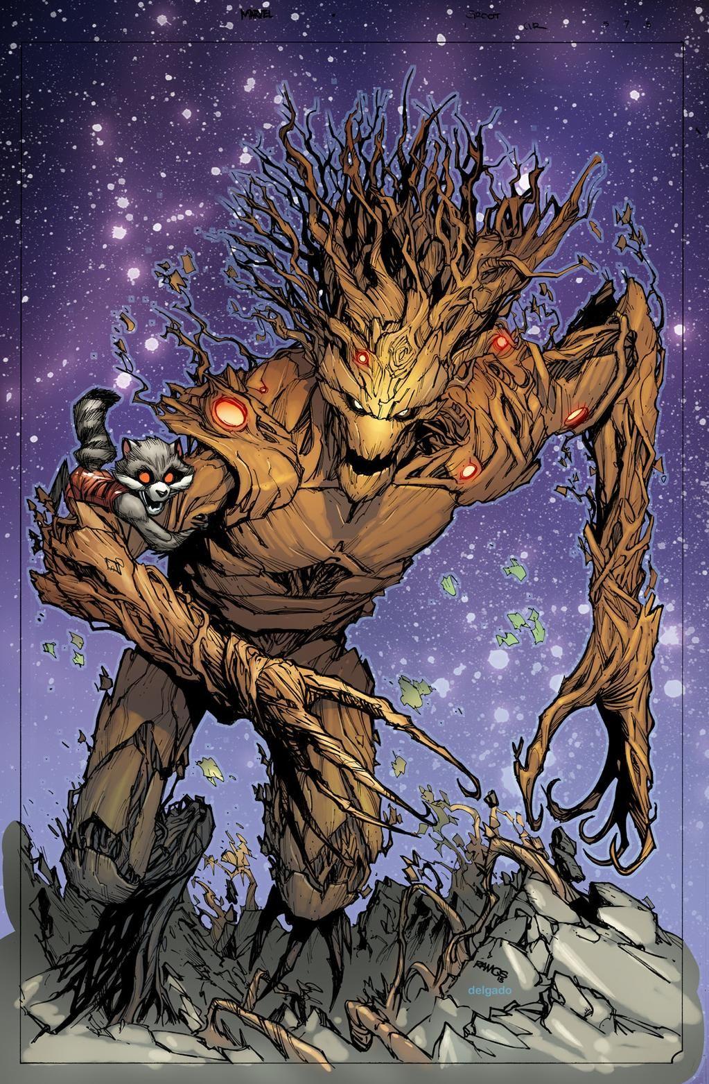 Alpha Groot - Marvel Comics