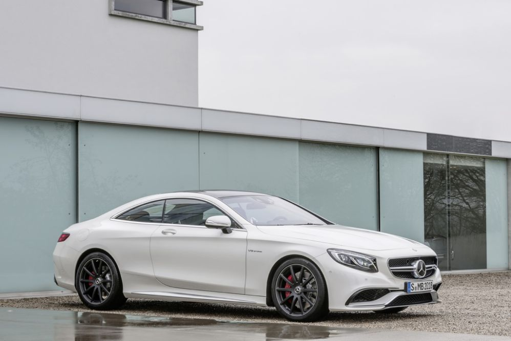 2015 Mercedes Benz S Class Coupe And S63 Amg Coupe First Drive
