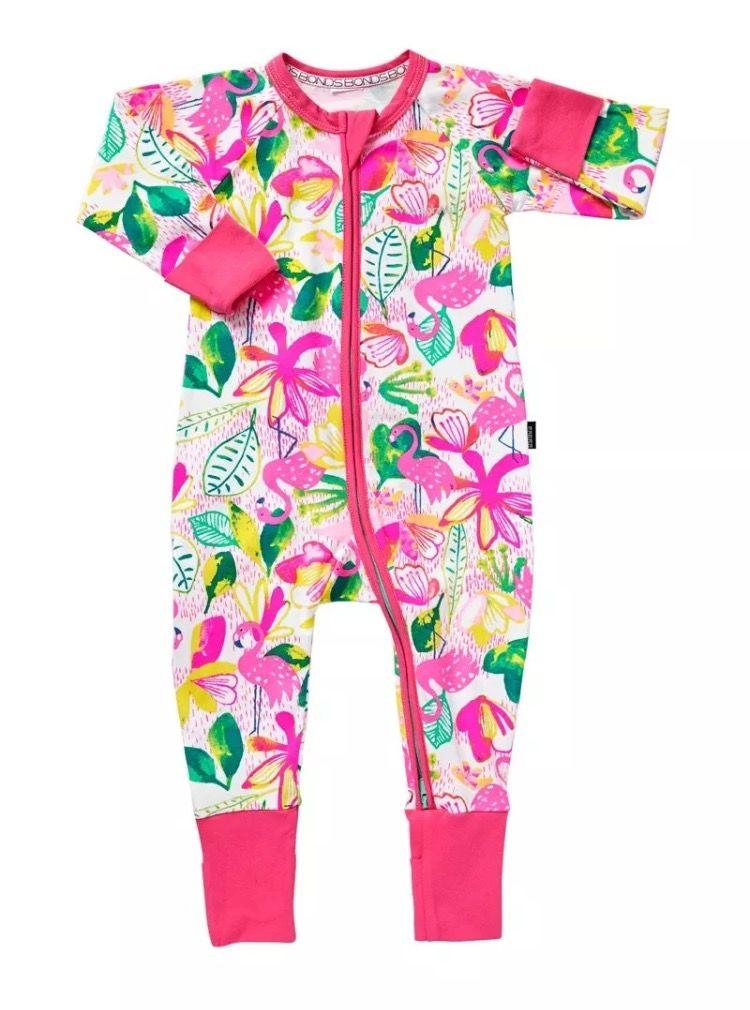 8dbdc849df Bonds Tropical Flamingo Wondersuit for Baby Girl