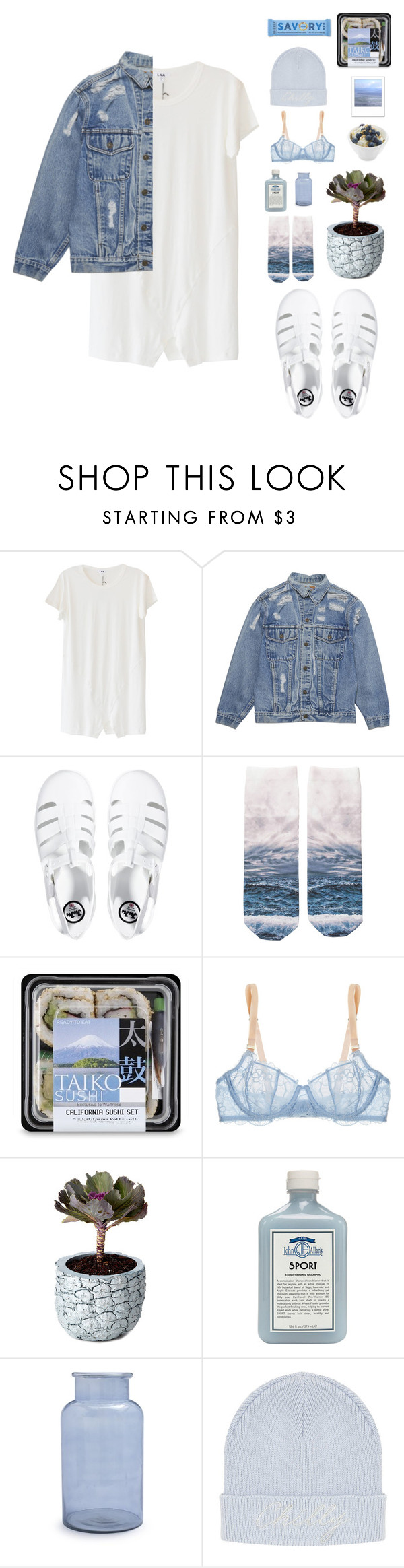 """""""You love the game"""" by blood-under-the-skin ❤ liked on Polyvore featuring LnA, JuJu, Monki, STELLA McCARTNEY, Chen Chen & Kai Williams, John Allan's, Sur La Table, Polaroid and Topshop"""