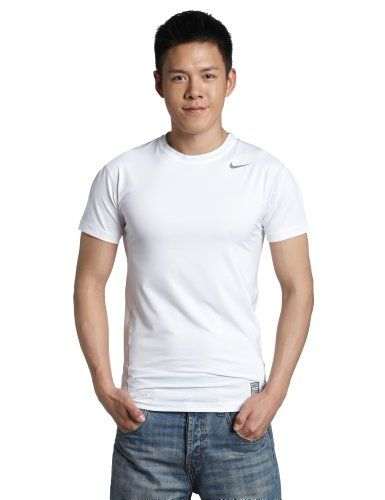 3e2af59225 NIKE Pro Core Short Sleeve Tight Crew T-Shirt.  nike  cloth