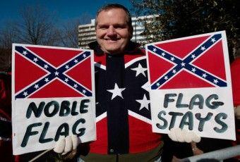 Dylann Roof Flag
