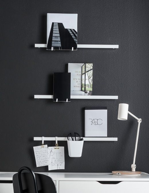 Organize your wall IKEA has the products you are looking for