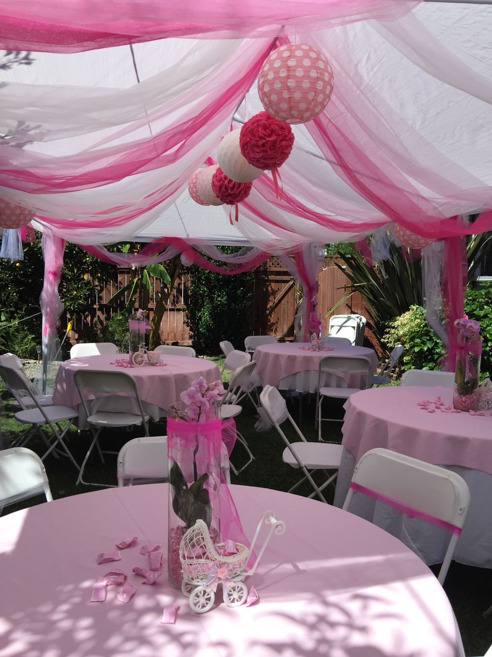 Tent decoration for my baby shower & Tent decoration for my baby shower | Baby Isabel | Pinterest ...