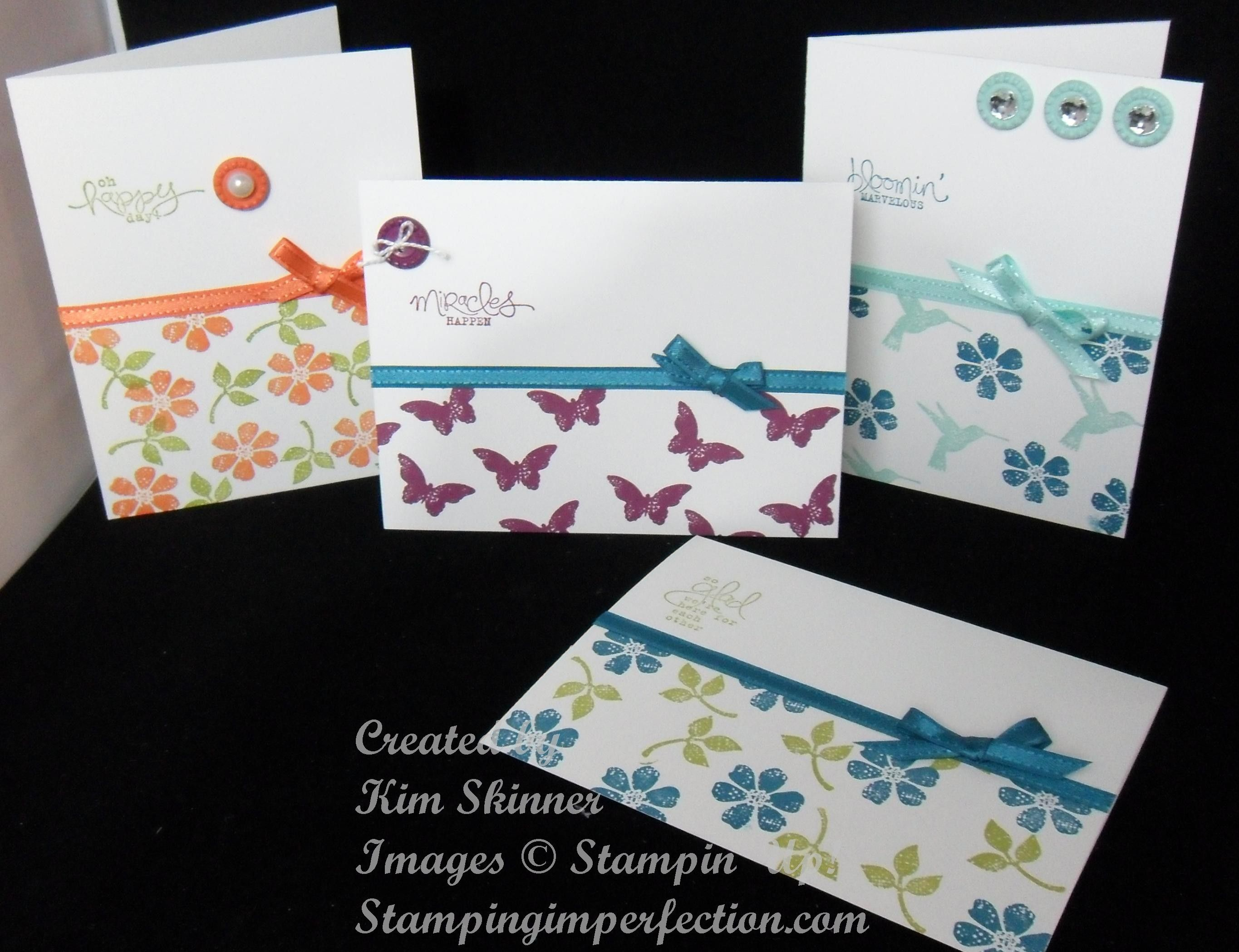 4 bloomin marvelous stampin up cards tangerine tango rich 4 bloomin marvelous stampin up cards tangerine tango rich razzleberry island kristyandbryce Gallery