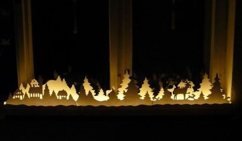 17 Best images about Christmas lights: ideas for window on Pinterest