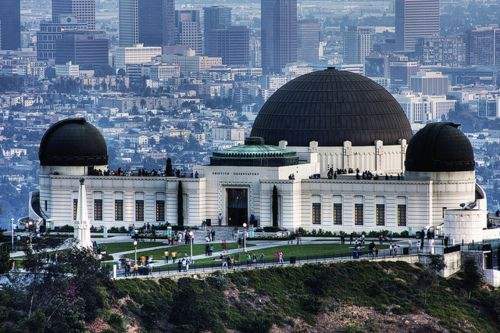 Griffith Observatory Los Angeles Very Unusual Angle So Beautiful Places To Travel Places To Go Places Around The World