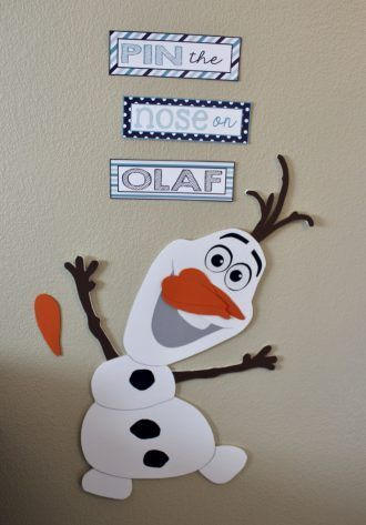 Adorable Olaf Themed Frozen Birthday Party