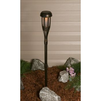 Mini Solar Tiki Torch Lights 10 Pack At Costco On Line Only