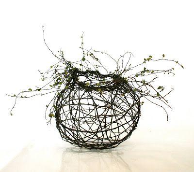 Sculptural Basket Maker Harriet Goodall Weaving Art Weaving