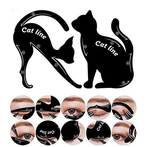 Cat Eyeliner Stencil -
