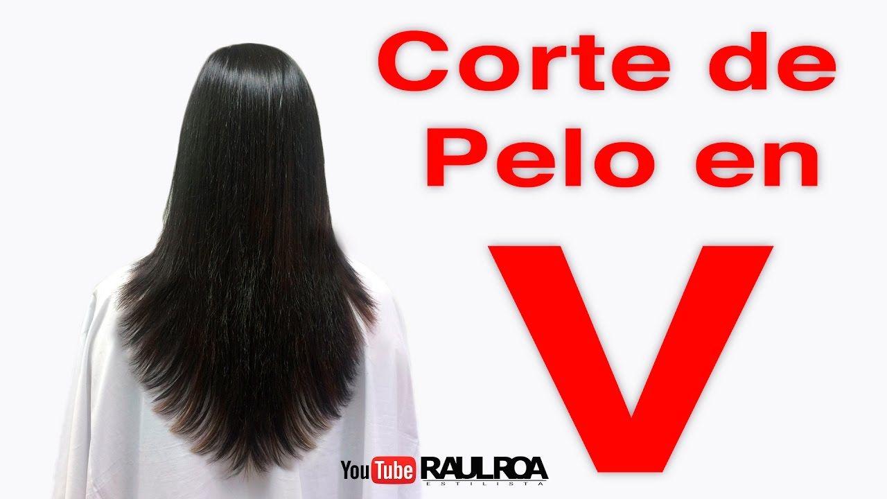 Corte de cabello v sin capas