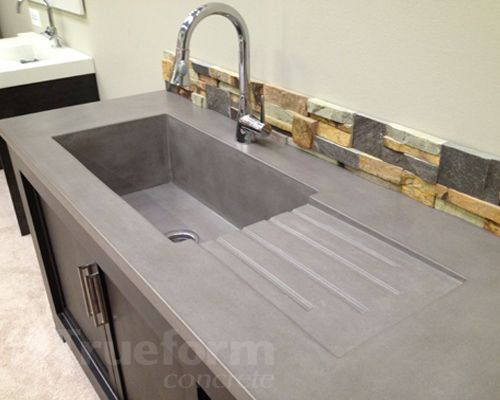 Concrete Sinks Countertops You Can Do Any Color You Like But I