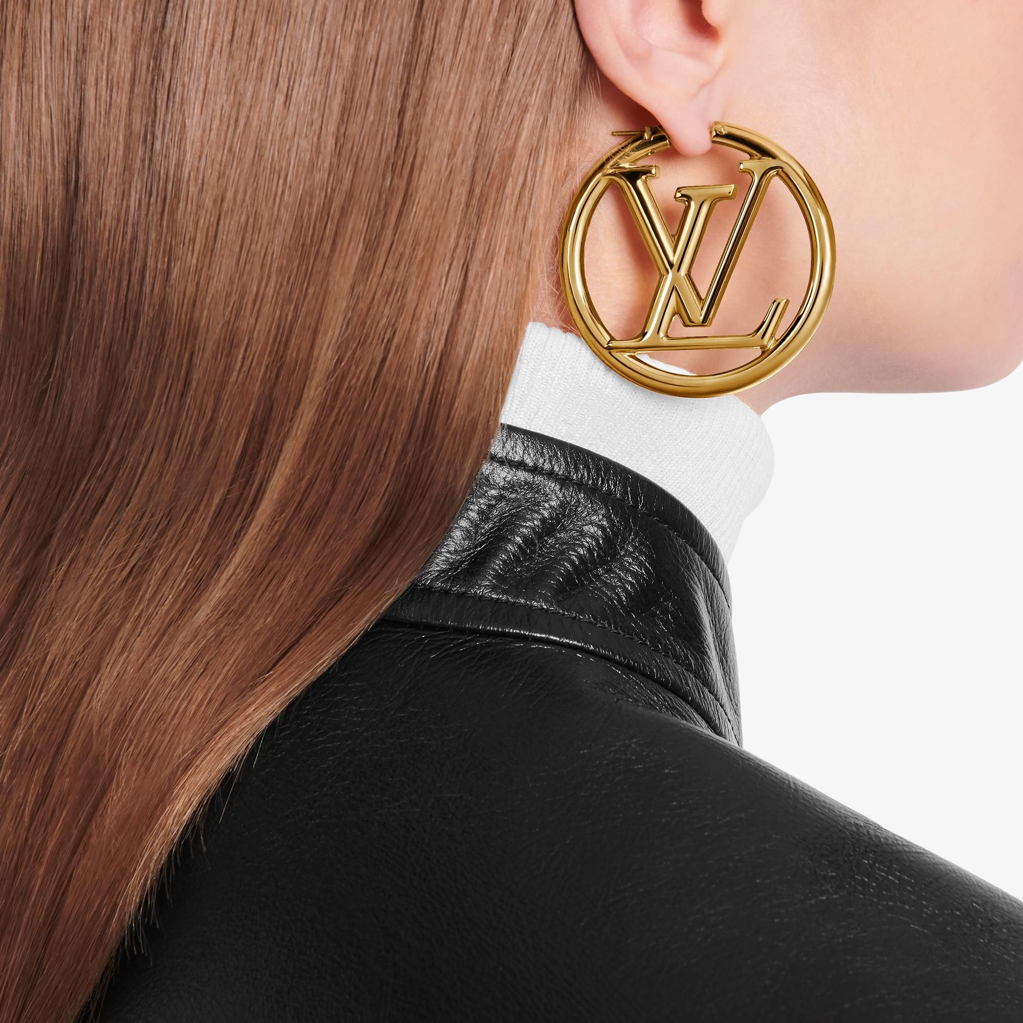 Products By Louis Vuitton Louise Hoop Earrings In 2020 Louis Vuitton Jewelry Louis Vuitton Michael Kors Earrings