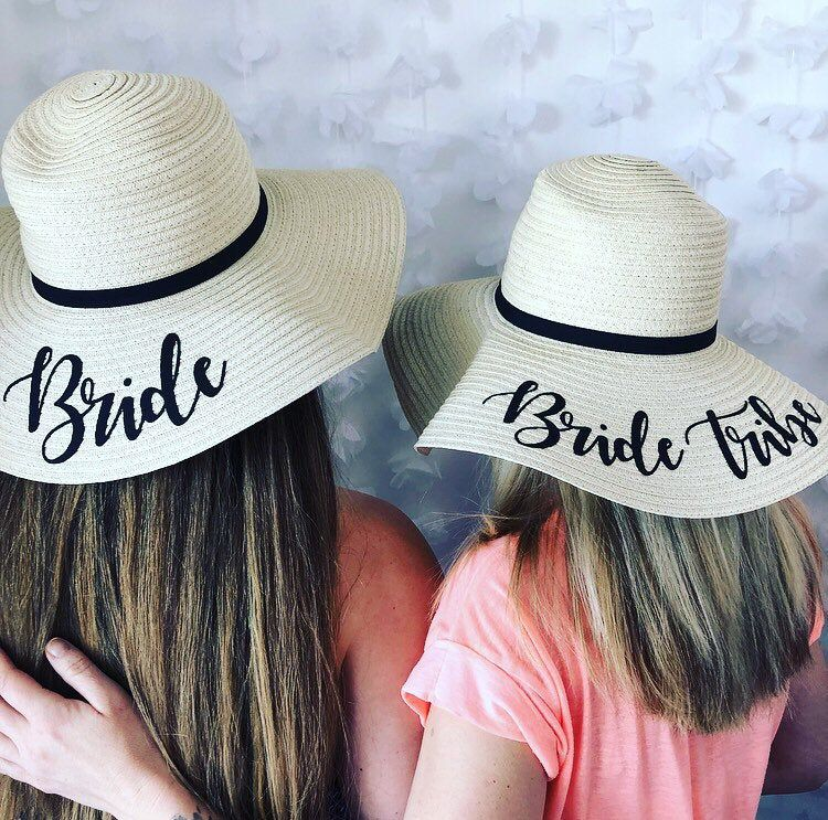 Personalised Bride to be Sun Hat