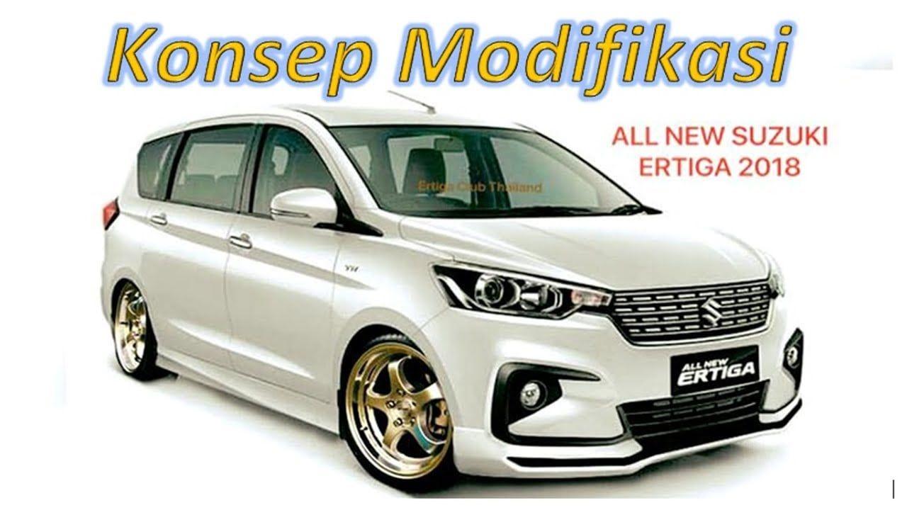 Modifikasi Mobil Ertiga Warna Putih Modifikasi Mobil Mobil Mobil Konsep