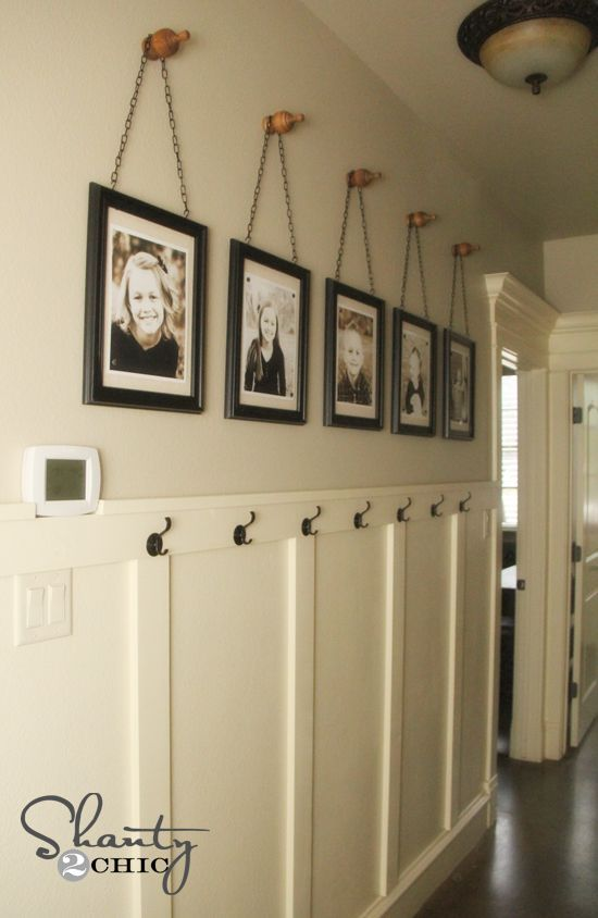 Diy Wall Art ~ Gallery Frames | Chains, Big And Easy