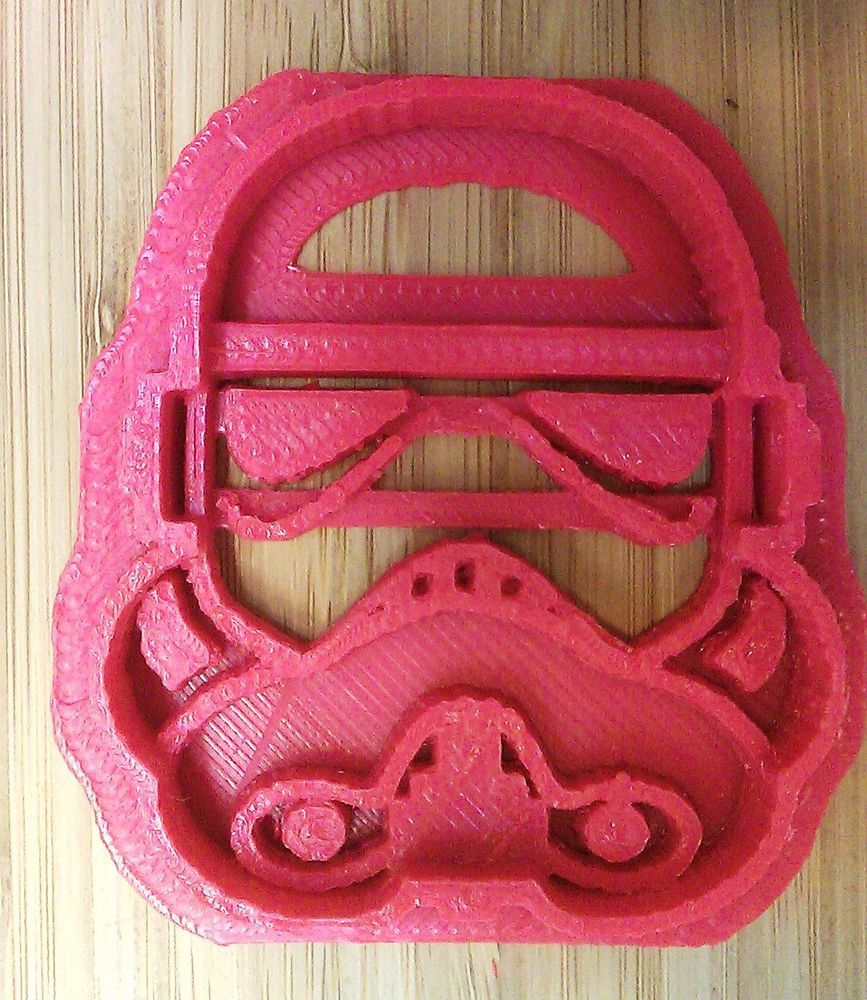 Star Wars Storm Trooper Cookie Cutter - Choice of Sizes - 3D Printed Plastic #Handmade3DPrint