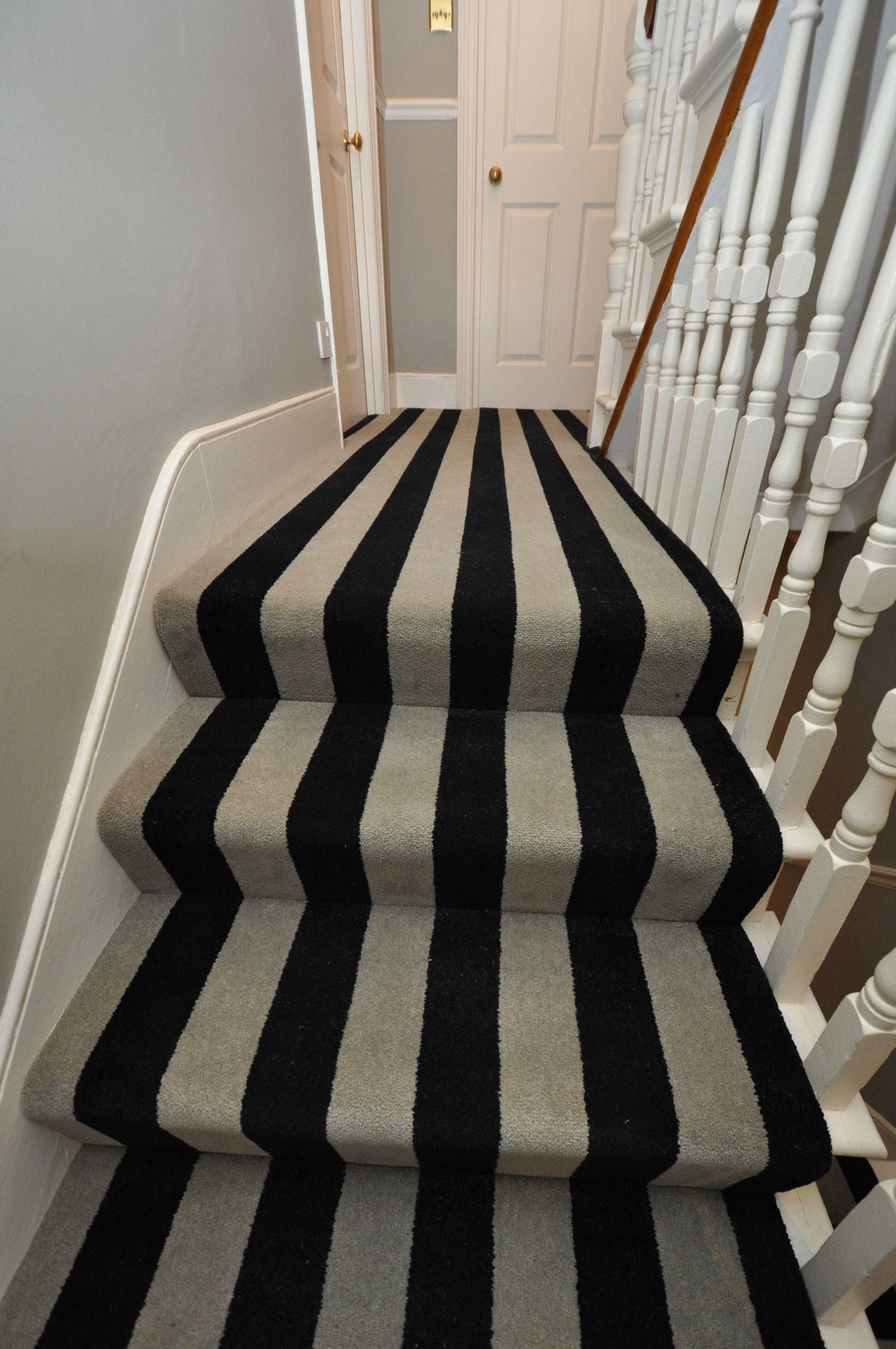 Best 5 003 Bespoke Carpet Bespoke Striped Carpet Stair Runners 400 x 300