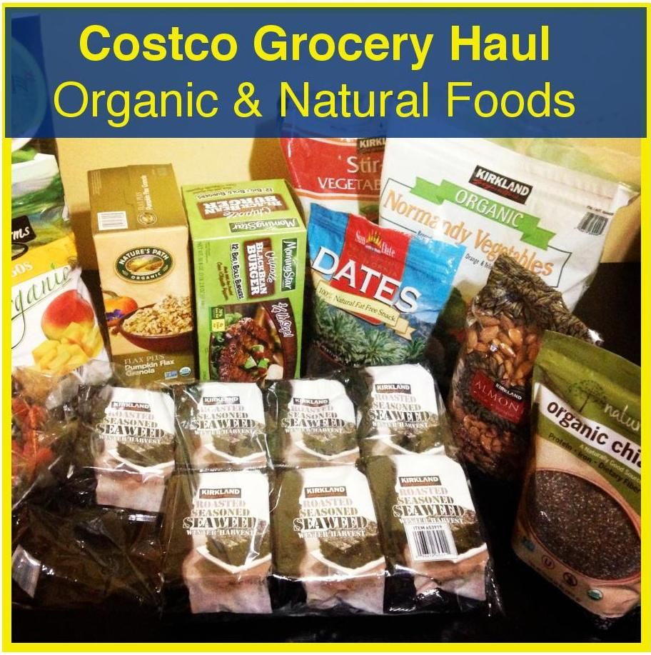 Costco Grocery Haul Food