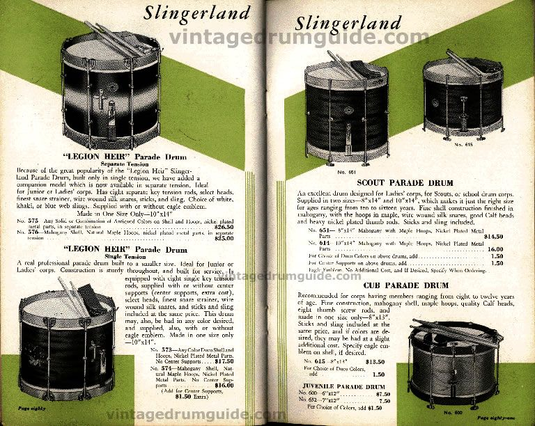 1936 slingerland snare drum catalogue drums drummers and drum kits in 2019 snare drum. Black Bedroom Furniture Sets. Home Design Ideas