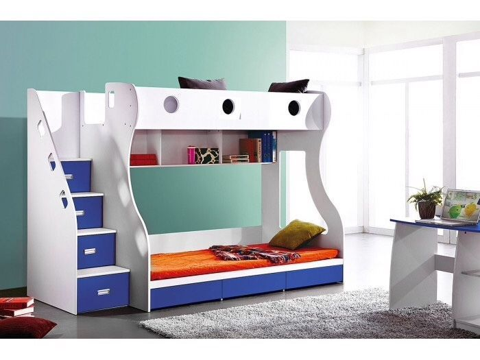 Double Bunk With Drawers And Staircase Port Elizabeth Gumtree South Africa 156694974 Bunk Beds With Storage White Bunk Beds Boys Room Decor