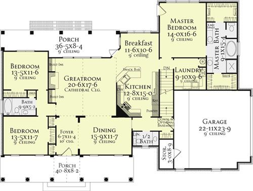 Country House Plans Best Selling House Plans House Layouts House Plans Country House Plans