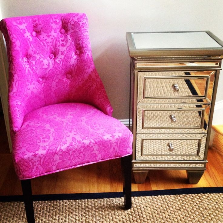 Cynthia Rowley home goods   Cynthia Rowley Chair and Mirrored Side ...