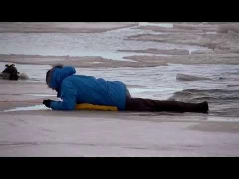 Jäistä pelastautuminen - Suomen Uimaopetus- ja Hengenpelastusliitto