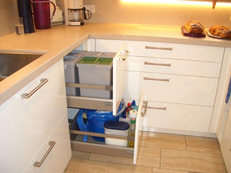 MUPL - Küchen-Lexikon Müllauszug direkt unter der Arbeitsplatte ...