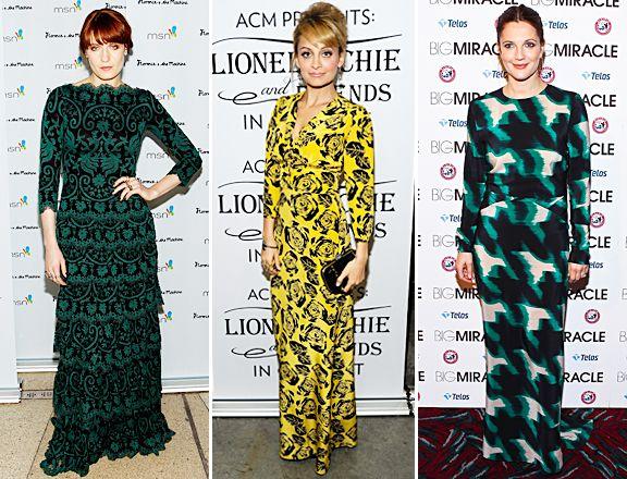 Bold Printed Maxi Dress Trend