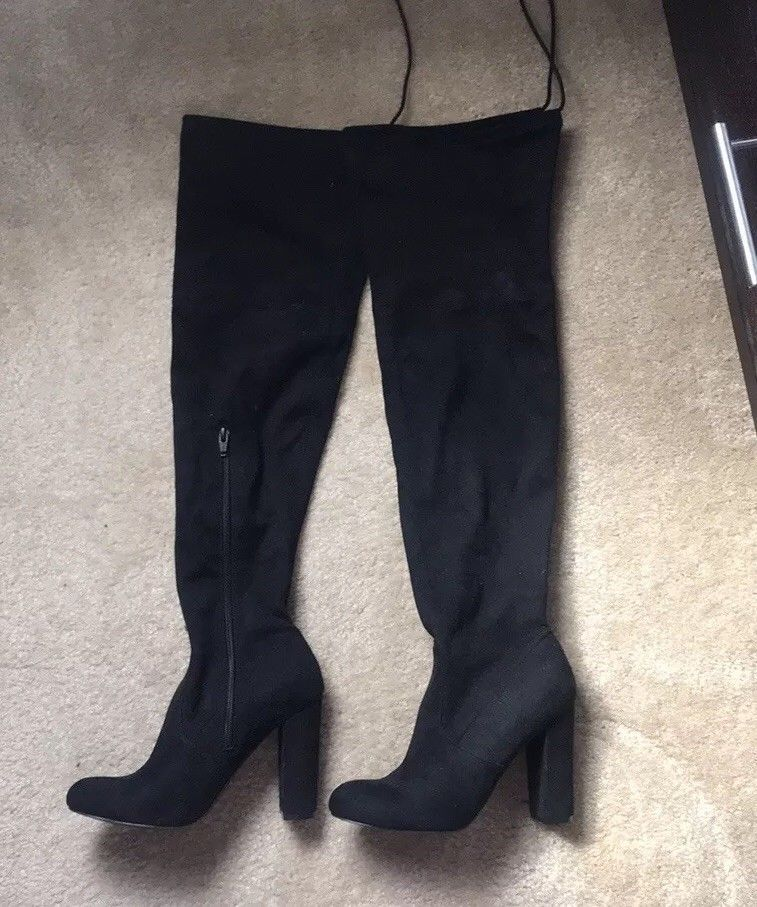 7b80e2af4de Knee High Boots Size 8 #fashion #clothing #shoes #accessories ...