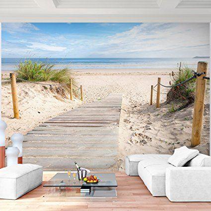 Fototapete Meer 352 x 250 cm - Vliestapete - Wandtapete - Vlies - kleine küche einrichten tipps