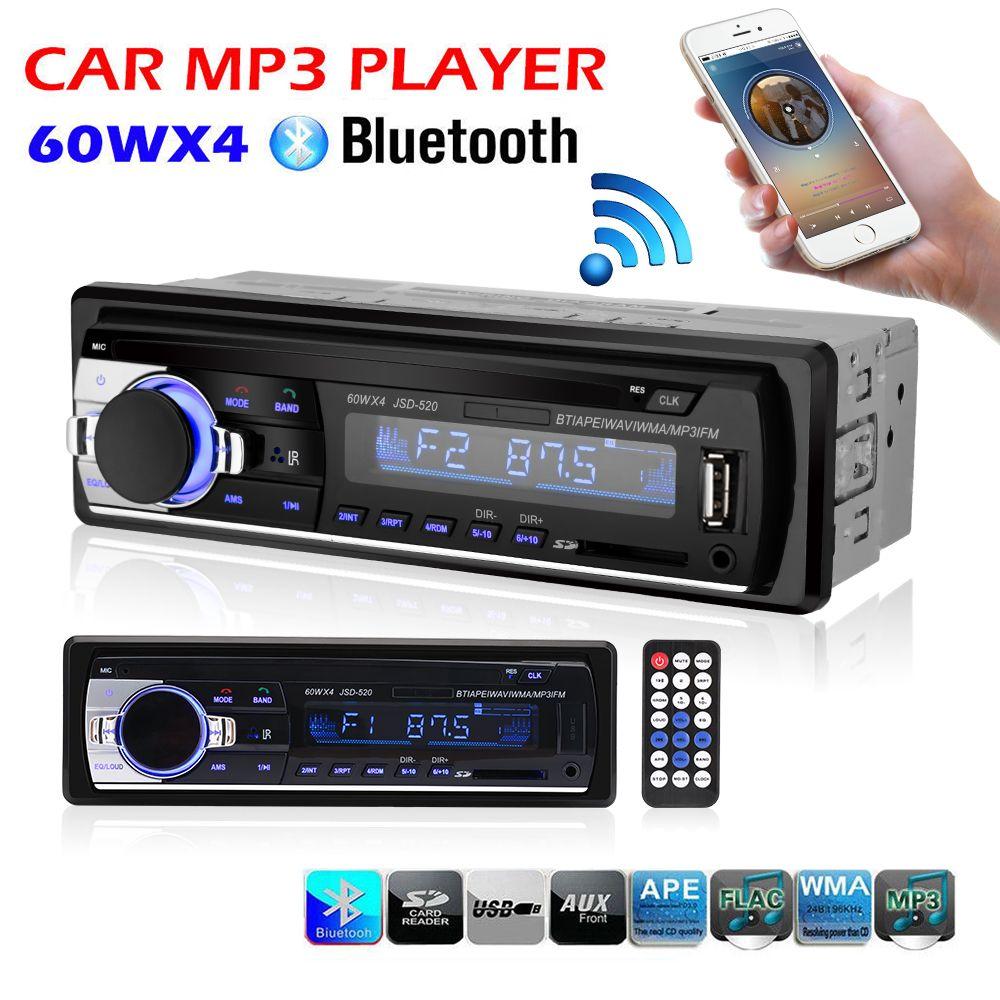 Voiture Radio Stéréo Lecteur Bluetooth Téléphone AUXIN