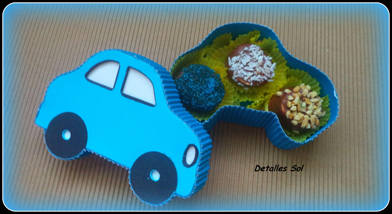 Carro relleno con marsmelos