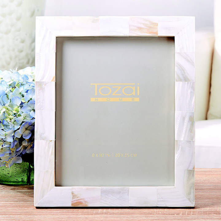 Asstd National Brand Twos Company Pearly White 8 X 10 Photo Frame
