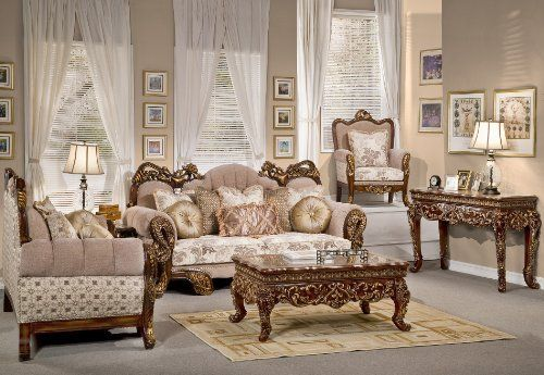 3 Pieces Persian Style Sofa Set Collection By Hollywood