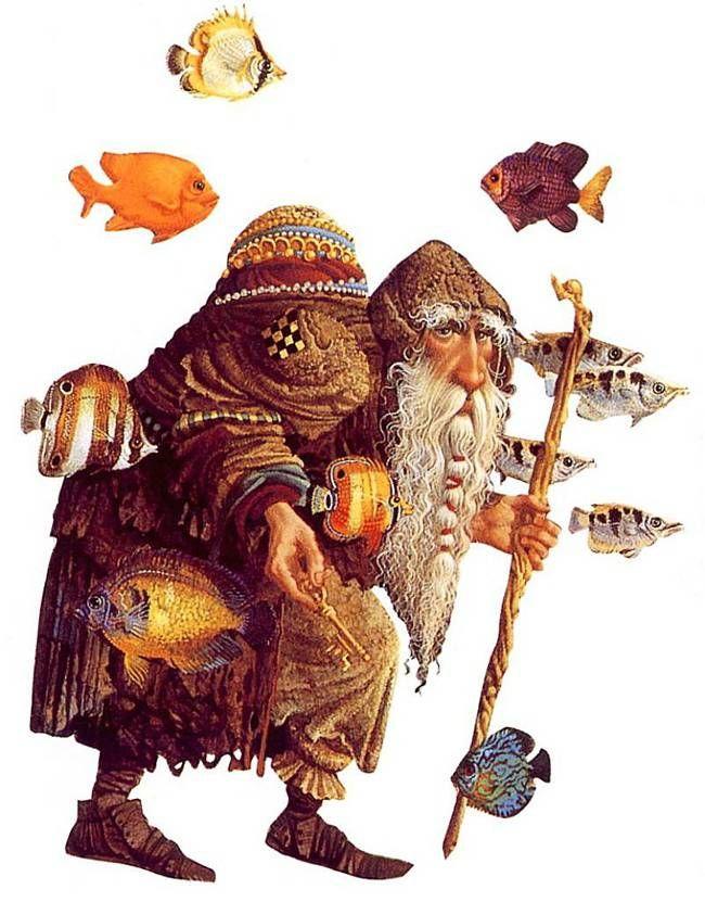 James C Christensen Fantasy Art Illustration Art