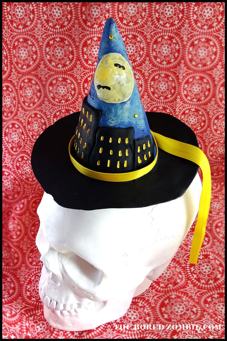 Creative Paperclay Urban Witch Costume Accessory | Halloween DIY ...