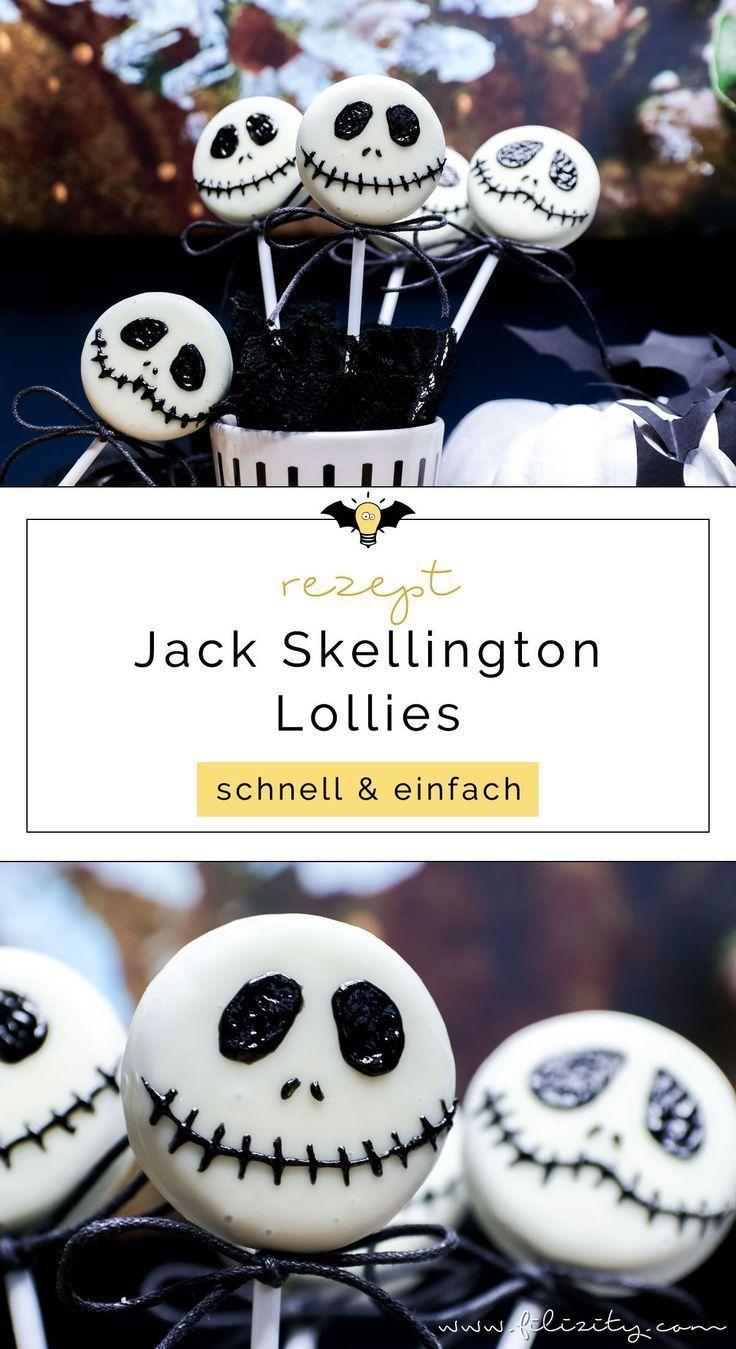 schnelles halloween rezept jack skellington keks lollies. Black Bedroom Furniture Sets. Home Design Ideas